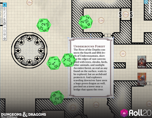 Waterdeep: Dungeon of the Mad Mage (Map & Card Deck Addon) | Roll20