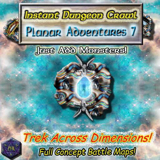 Instant Dungeon Crawl: Planar Adventures 7