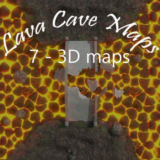 Lava Cave Maps
