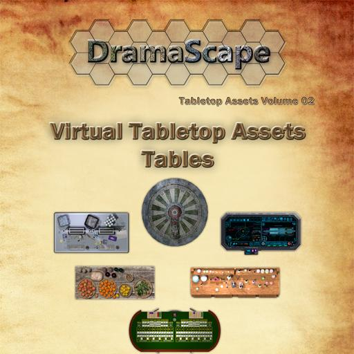 Virtual Tabletop Assets Tables