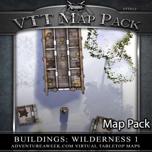 VTT Map Pack: Wilderness 1