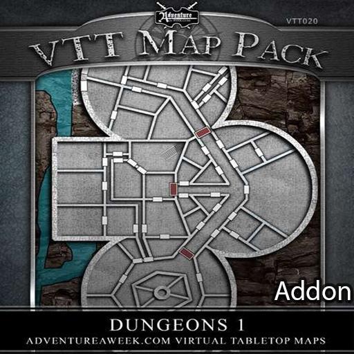 VTT Addon: Dungeons 1