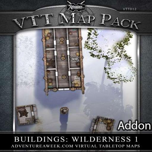VTT Addon: Wilderness 1 Map Addon