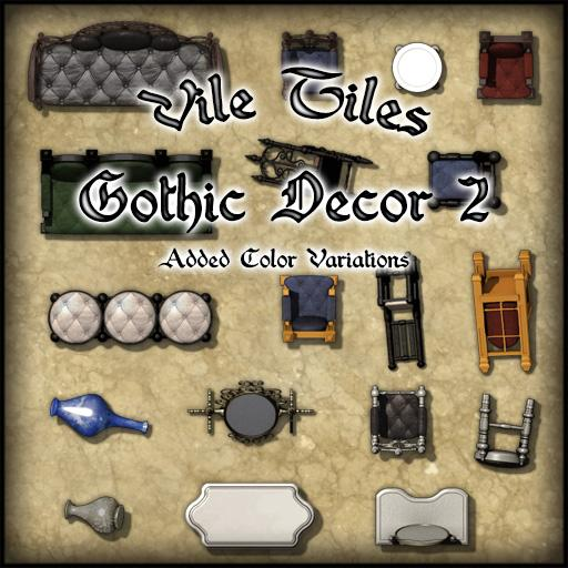 Vile Tiles Gothic Decor 2