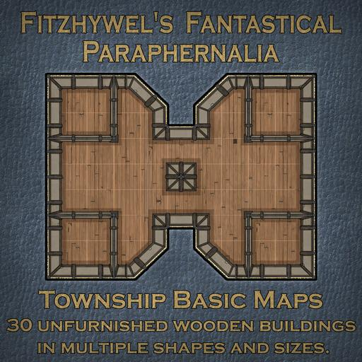 Fitzhywels Fantastical Paraphernalia Township Basic Maps