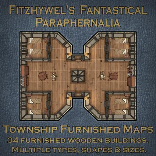 Fitzhywels Fantastical Paraphernalia Township Furnished Maps
