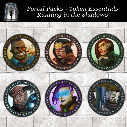 Portal Packs - Token Essentials - Running in the Shadows