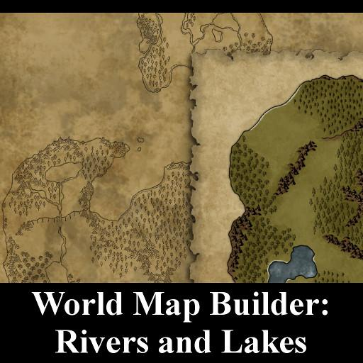 World Map Builder: Rivers and Lakes