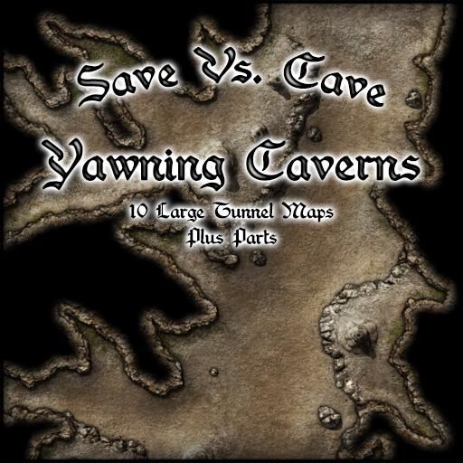 Save Vs. Cave Yawning Caverns