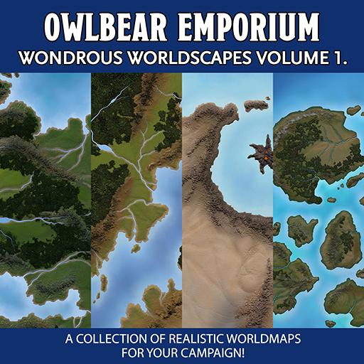 Wondrous Worldscapes Volume 1