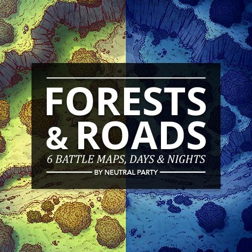 Forests & Roads Map Pack 1