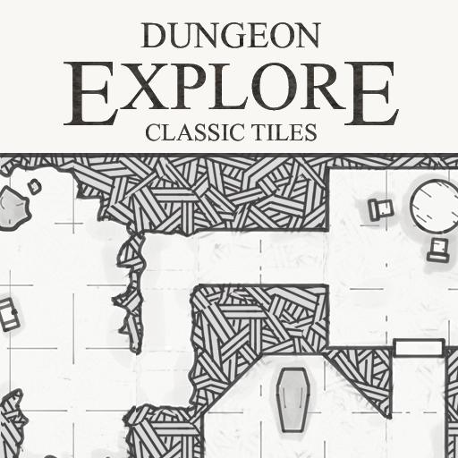 Dungeon Explore - Classic Tile Set