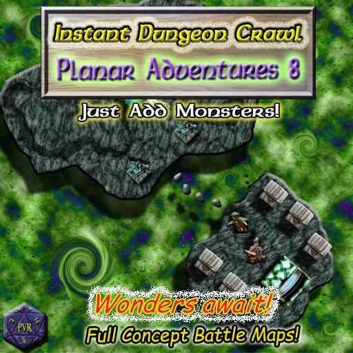 Instant Dungeon Crawl: Planar Adventures 8