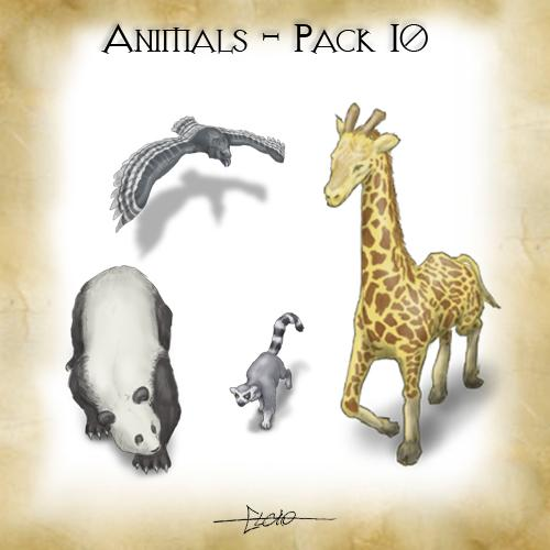 Animals - Pack 10