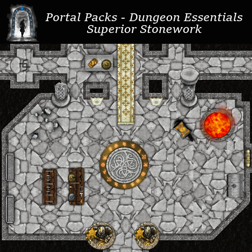 Portal Packs - Dungeon Essentials - Superior Stonework