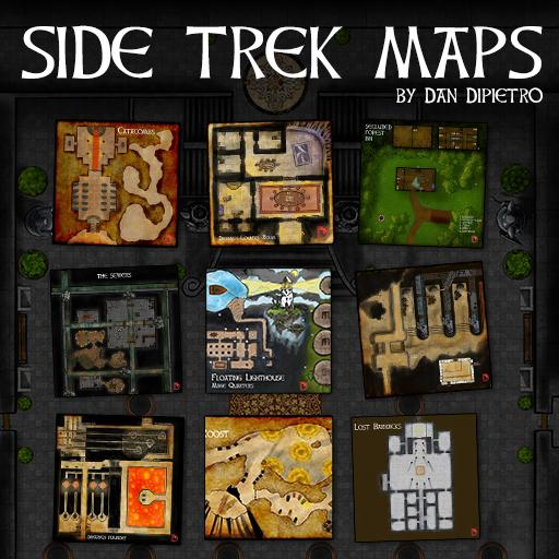 Side Trek Maps