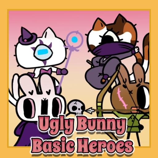 Ugly Bunny Basic Heroes