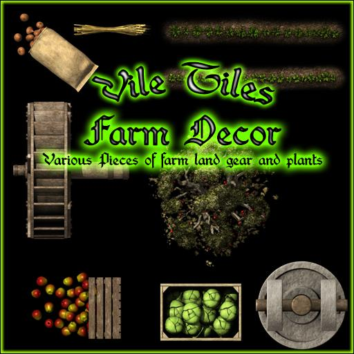 Vile Tiles: Farm Decor