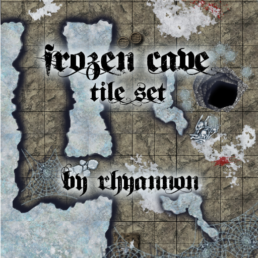 Frozen Cave Tile Set