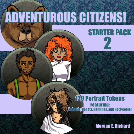 Adventurous Citizens - Token Starter Pack 2