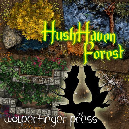 HushHaven Forest Dungeon-On-Demand Map Pack