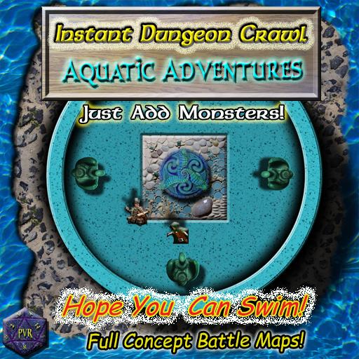 Instant Dungeon Crawl: Aquatic Adventures