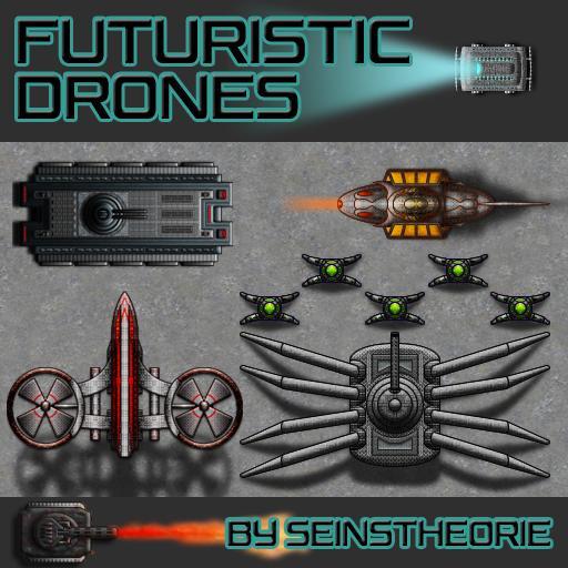 Futuristic Drones