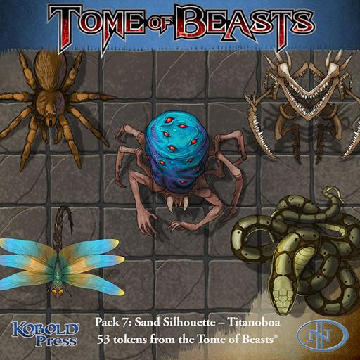 Tome of Beasts 7: Sand Silhouette - Titanoboa