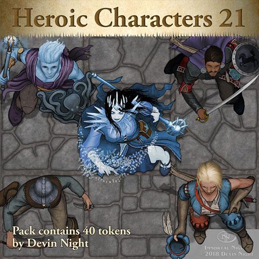 109 - Heroic Characters 21