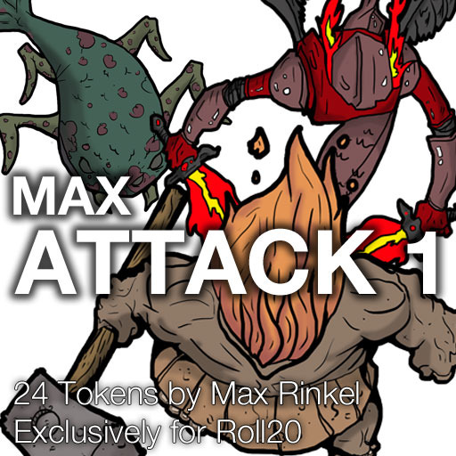 Max Attack 1 - Monsters