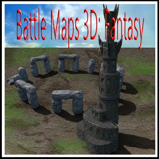 Battle Maps 3D: Fantasy
