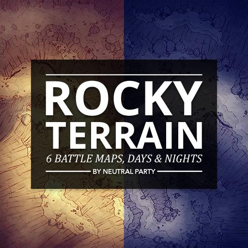 Rocky Terrain Map Pack 1