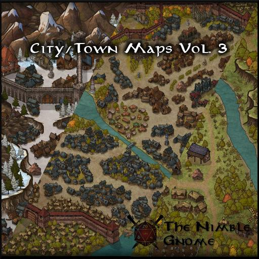 City & Town Maps Volume 3