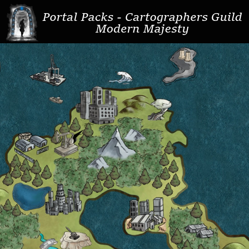 Portal Packs - Cartographers Guild - Modern Majesty