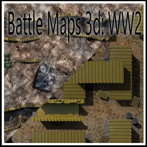 Battle Maps 3D: WW2