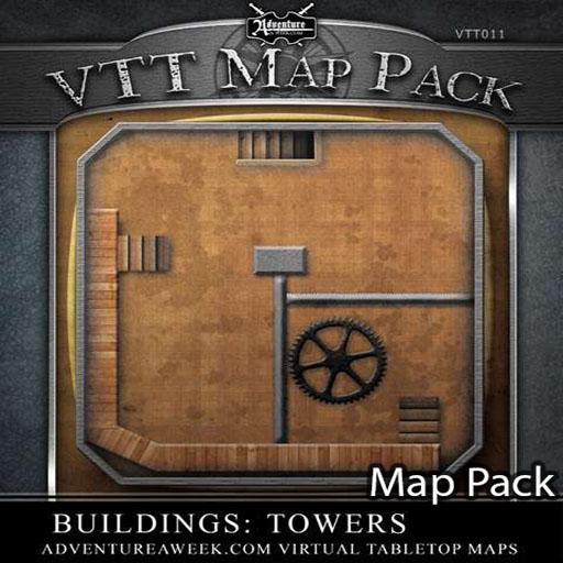VTT Map Pack: Towers