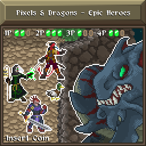 Pixels and Dragons - Epic Heroes 1