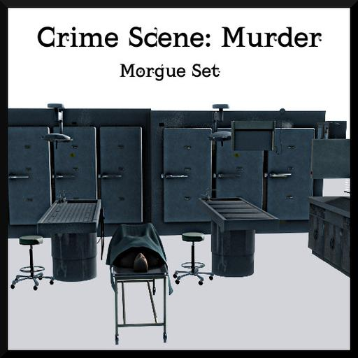 Crime Scene Murder: Morgue Edition