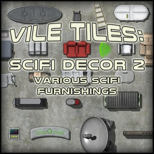 Vile Tiles Scifi Decor 2