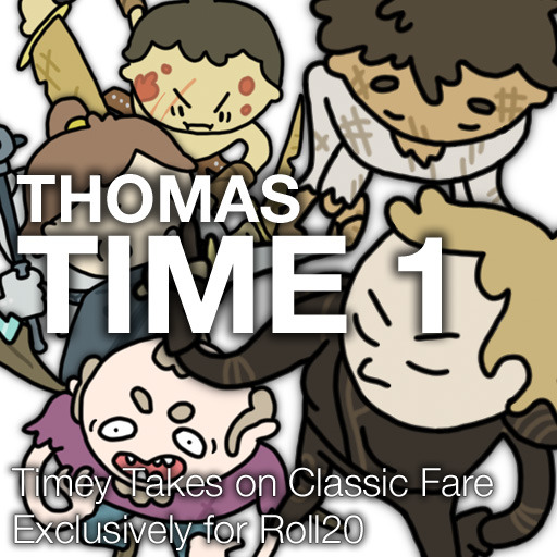 Thomas Time 1 - Characters