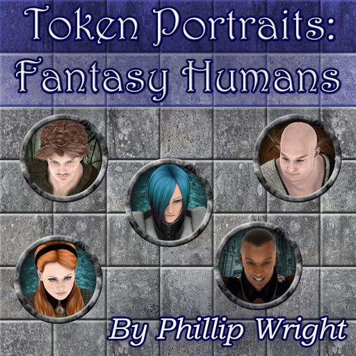 Token Portraits - Fantasy Humans
