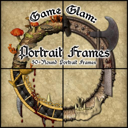Game Glam: Portrait Frames