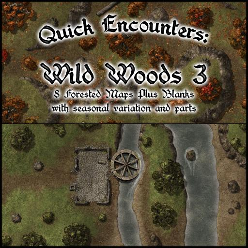 Quick Encounters: Wild Woods 3