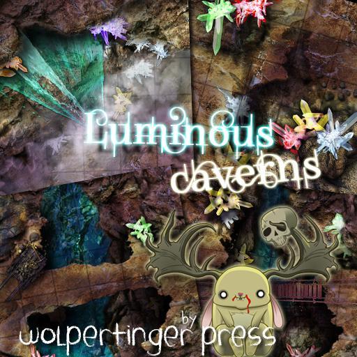 Luminous Caverns Dungeon-On-Demand Map Pack