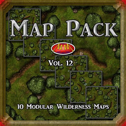Map Pack Vol 12 Seamless Forest