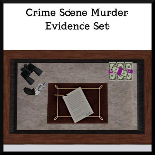 Crime Scene Murder: Evidence Set