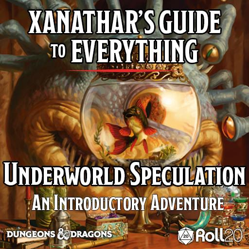 Xanathar's Guide to Everything (Underworld Speculation)