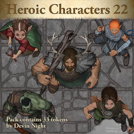 108 - Heroic Characters 22