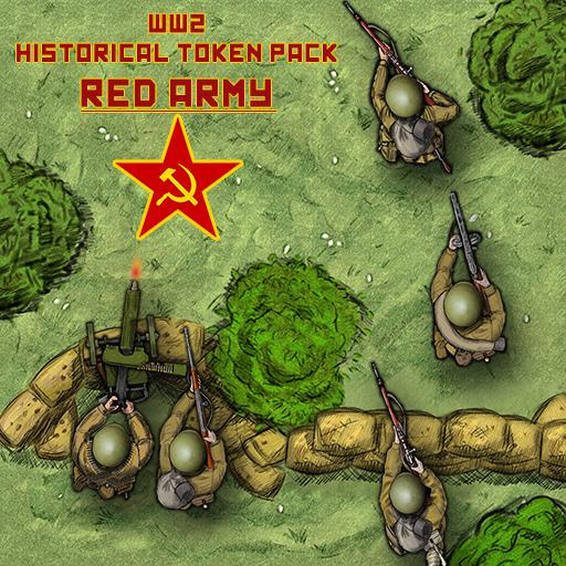 WW2 historical token pack: RED ARMY