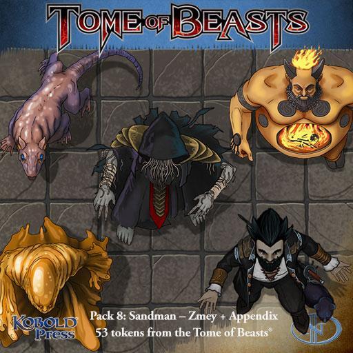 Tome of Beasts 8: Sandman - Zmey